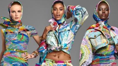 Versace campagna primavera estate 2019: protagoniste Bella Hadid e Irina Shayk