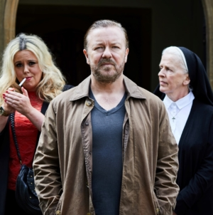 After Life serie tv 2019: l'irriverente comedy con Ricky Gervais su Netflix