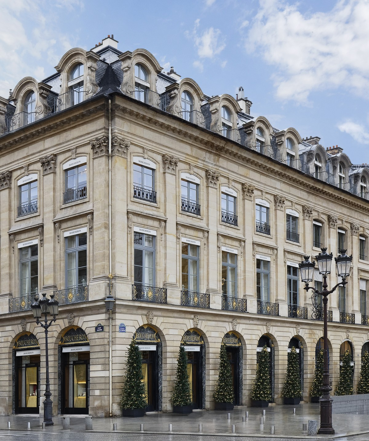 Boucheron 26 Place Vendome Parigi