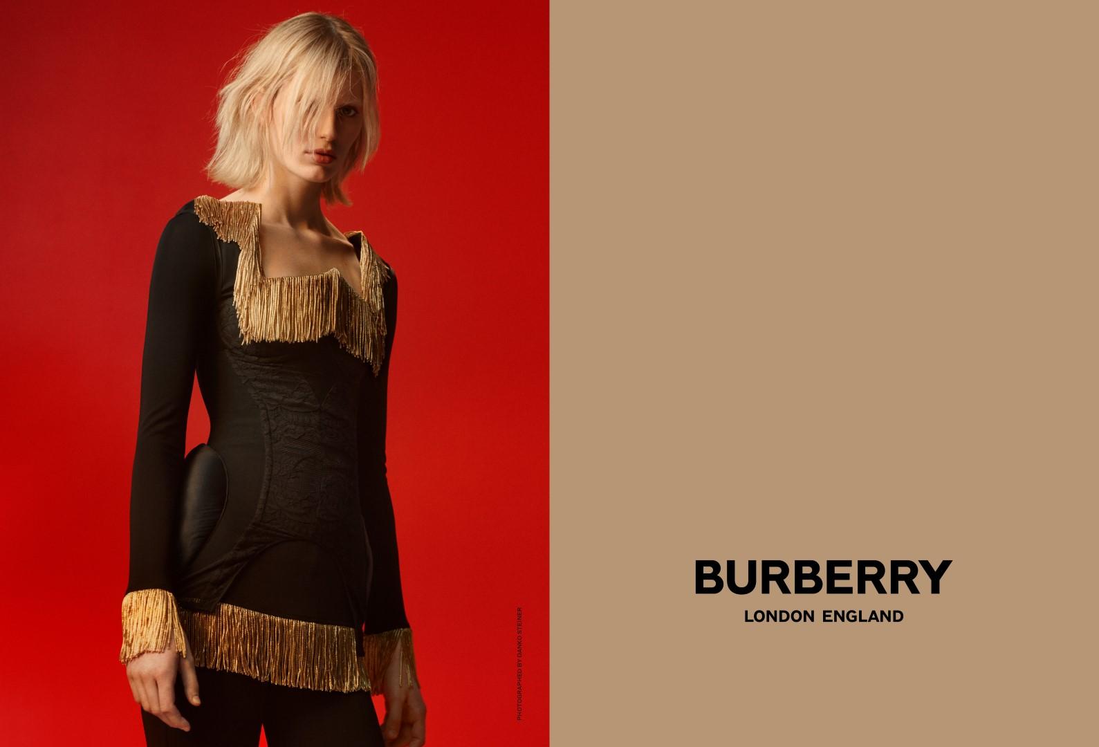 Burberry campagna primavera estate 2019