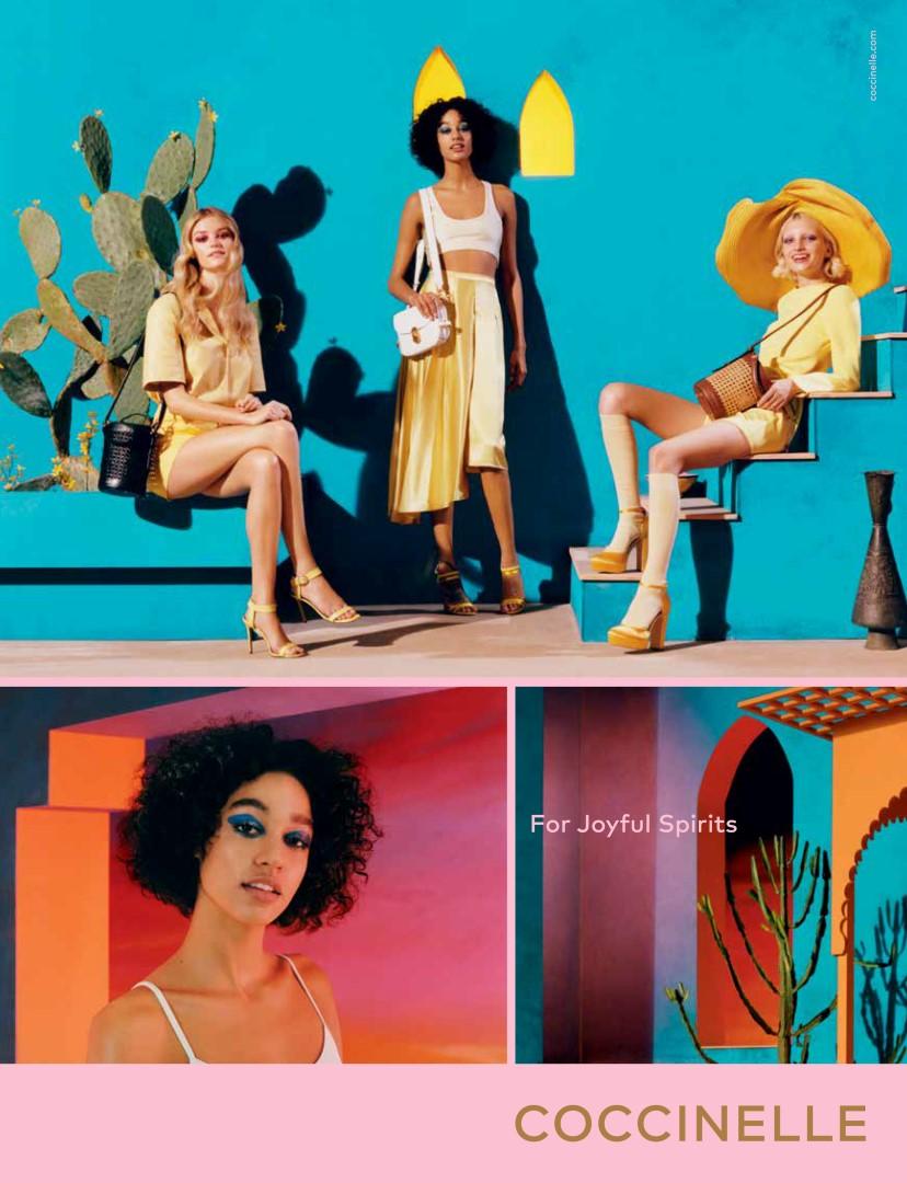 Coccinelle campagna primavera estate 2019