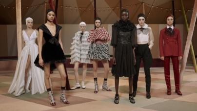 Dior Haute Couture primavera estate 2019: il circo moderno, la sfilata a Parigi