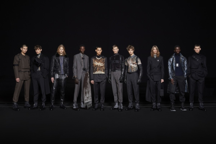 Dior Homme autunno inverno 2019 2020: la passione per l'arte, la sfilata a Parigi