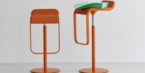 IMM Cologne 2019 Lapalma: l'iconico sgabello Lem si veste d'arancio