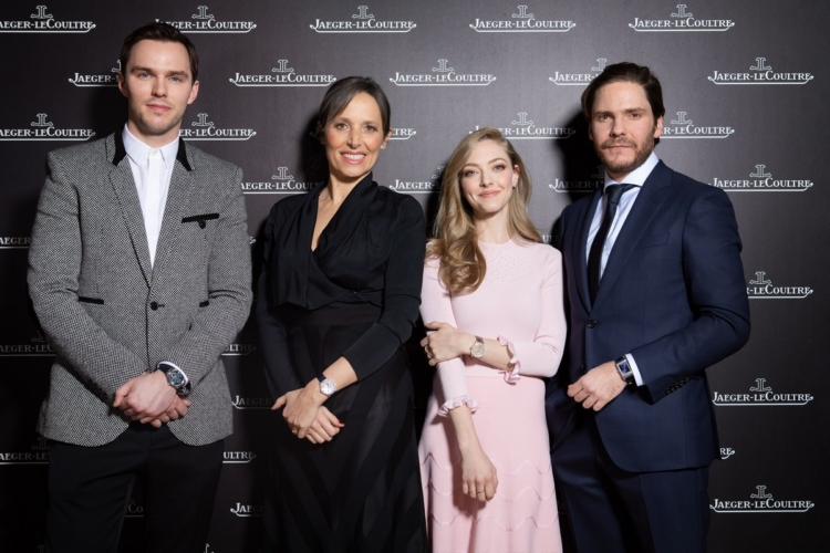 Jaeger-LeCoultre SIHH 2019: special guest Amanda Seyfried, Nicholas Hoult e Daniel Bruehl