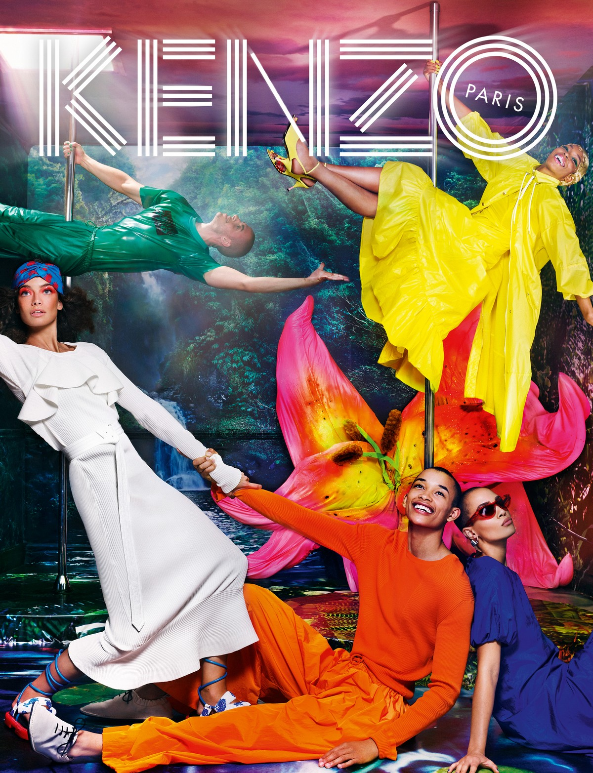 Kenzo campagna primavera estate 2019