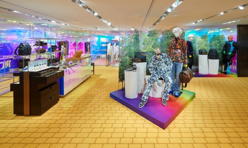 Louis Vuitton Milano La Rinascente: un concept inedito dedicato alla collezione uomo