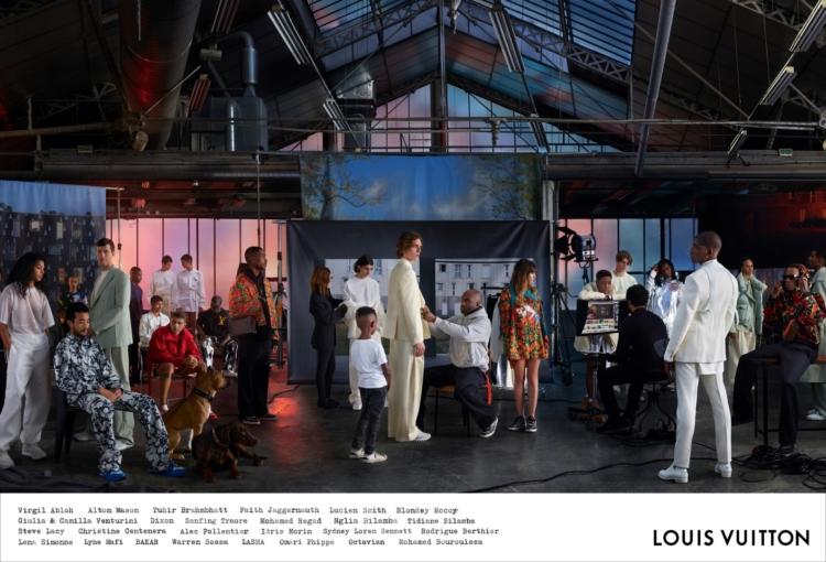 Louis Vuitton campagna uomo primavera estate 2019