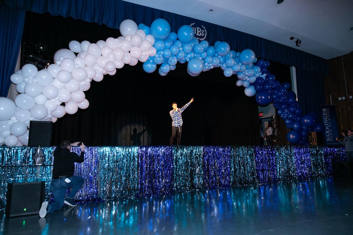 Michael B. Jordan Barringer High School