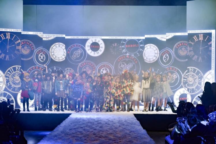 Moda bimbi autunno inverno 2019: la sfilata Children's Fashion from Spain