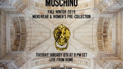 Moschino Roma 2019 sfilata Live Streaming: la diretta video su Globe Styles