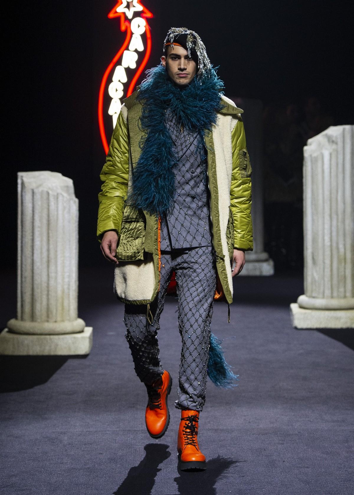 Moschino Uomo autunno inverno 2019