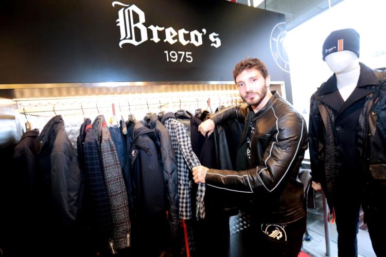 Pitti Uomo Gennaio 2019 Breco's: special guest Stefano De Martino