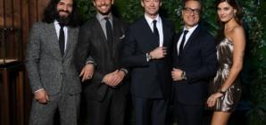 SIHH 2019 Montblanc party: guest Hugh Jackman, Isabeli Fontana e David Gandy