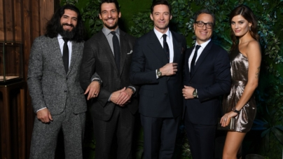 SIHH 2019 Montblanc party: guest Hugh Jackman, Isabeli Fontana e David Gandy
