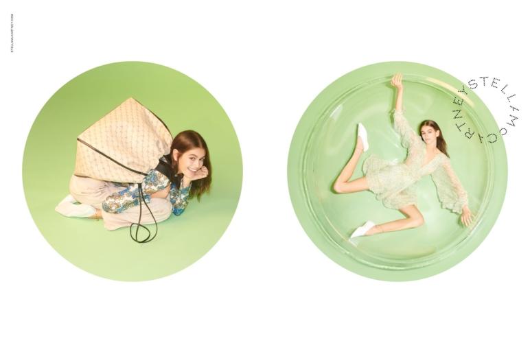 Stella McCartney campagna primavera 2019: protagoniste Kaia Gerber e Kate Moss