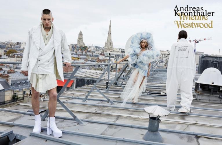 Vivienne Westwood campagna primavera estate 2019: un racconto parigino