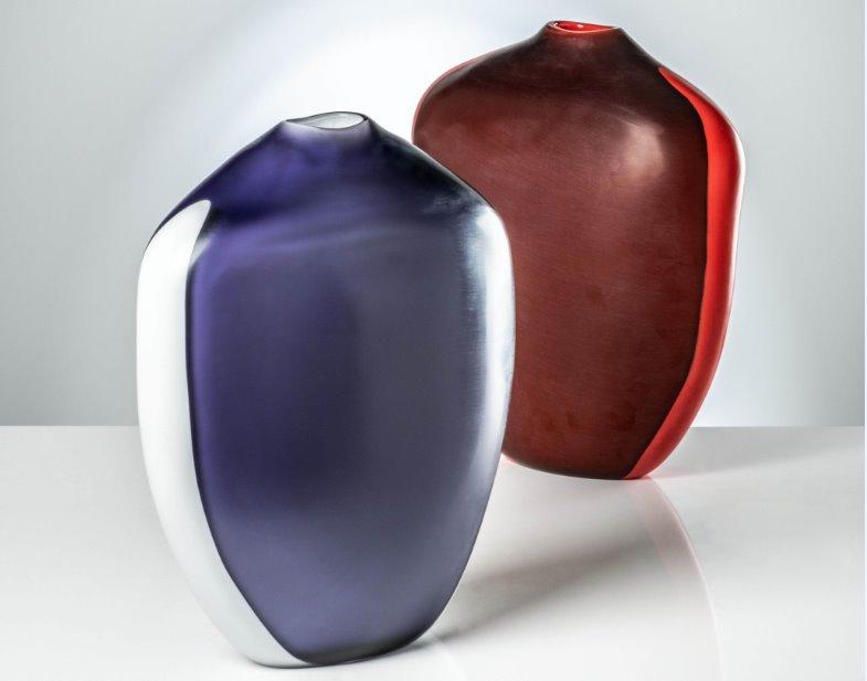 Venini vasi I Paladini: i nuovi capolavori di art glass firmati da Emmanuel Babled