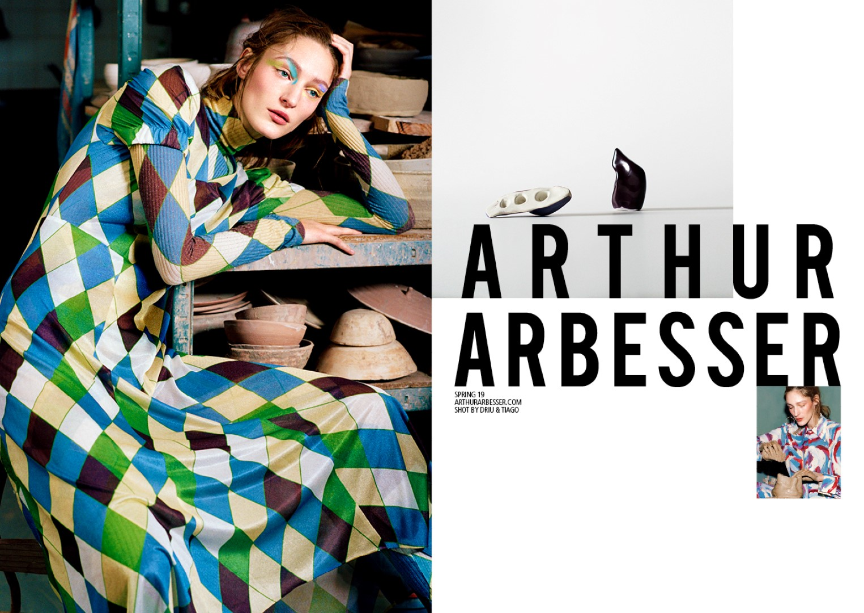 Arthur Arbesser campagna primavera estate 2019