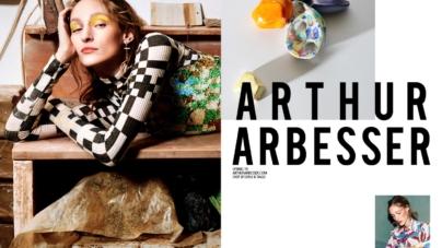 Arthur Arbesser campagna primavera estate 2019: il mondo della ceramica