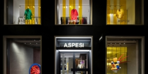 Aspesi nuova boutique Milano: il cocktail party d'inaugurazione del flagship store