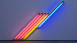 Cardi Gallery Milano Dan Flavin: colore, luce e spazio, la mostra personale