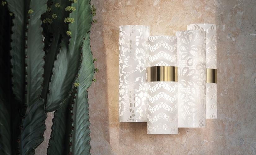 Lollo Applique Slamp 2019: la nuova lampada da parete ispirata gli anni '50