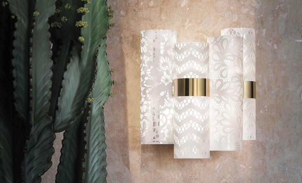 Lollo applique slamp 2019 lampada da parete design foto