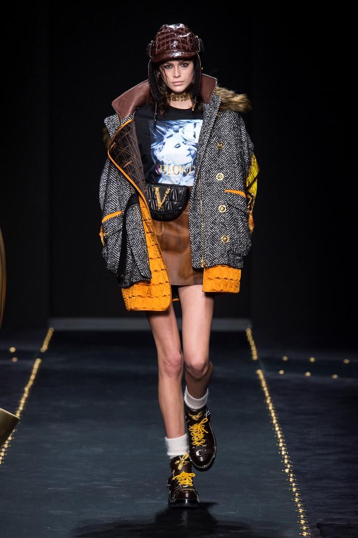 Versace Donna autunno inverno 2019