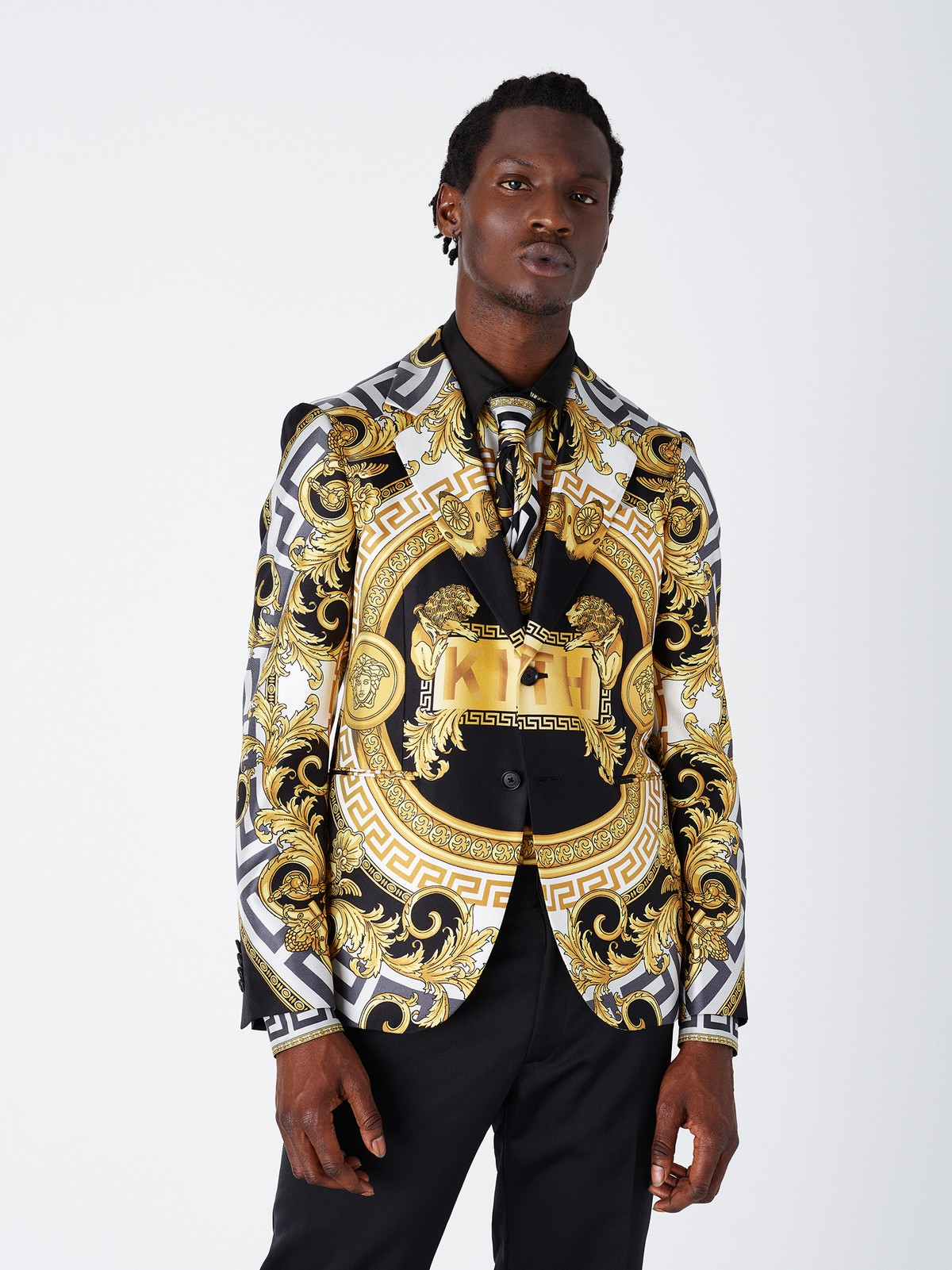 Versace Kith capsule collection 2019