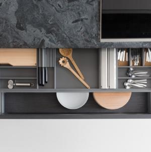 Zampieri cucine accessori 2019: le soluzioni per organizzare al meglio gli spazi