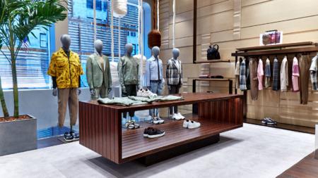 Zegna New York store: la nuova boutique all'interno del Crown Building