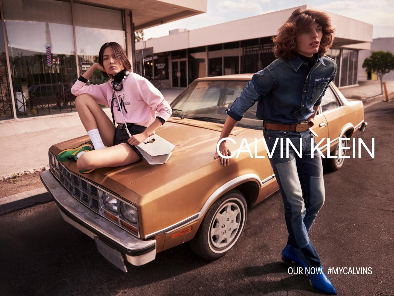 calvin klein campagna primavera estate 2019
