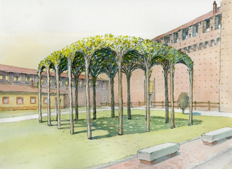 Artemide Castello Sforzesco Milano