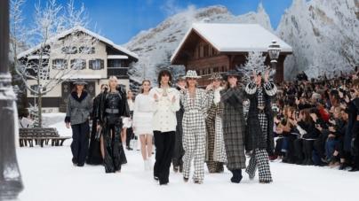 Chanel autunno inverno 2019 2020: il villaggio di montagna, la sfilata