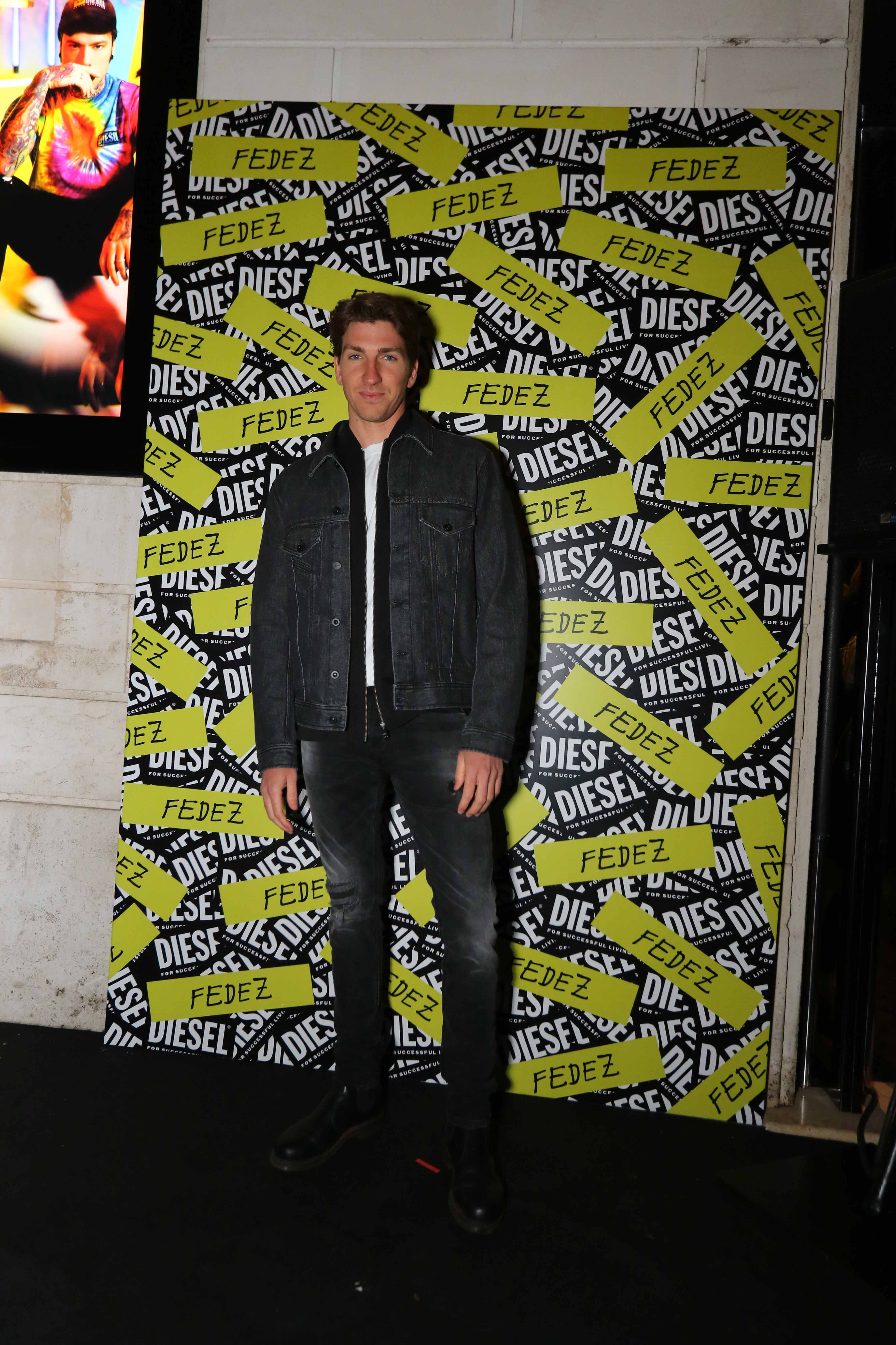 Diesel Fedez Roma party
