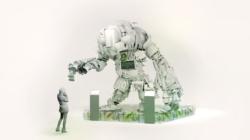 Fuorisalone Milano 2019 Timberland: RoBotl, il supereroe sostenibile firmato Giò Forma