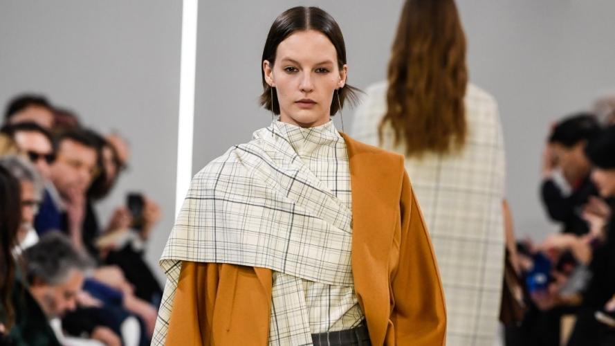 Giada autunno inverno 2019 2020: tailoring deciso e forme morbide