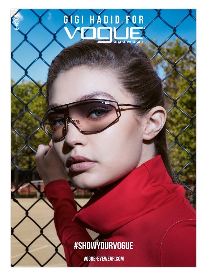 Gigi Hadid Vogue Eyewear collezione 2019
