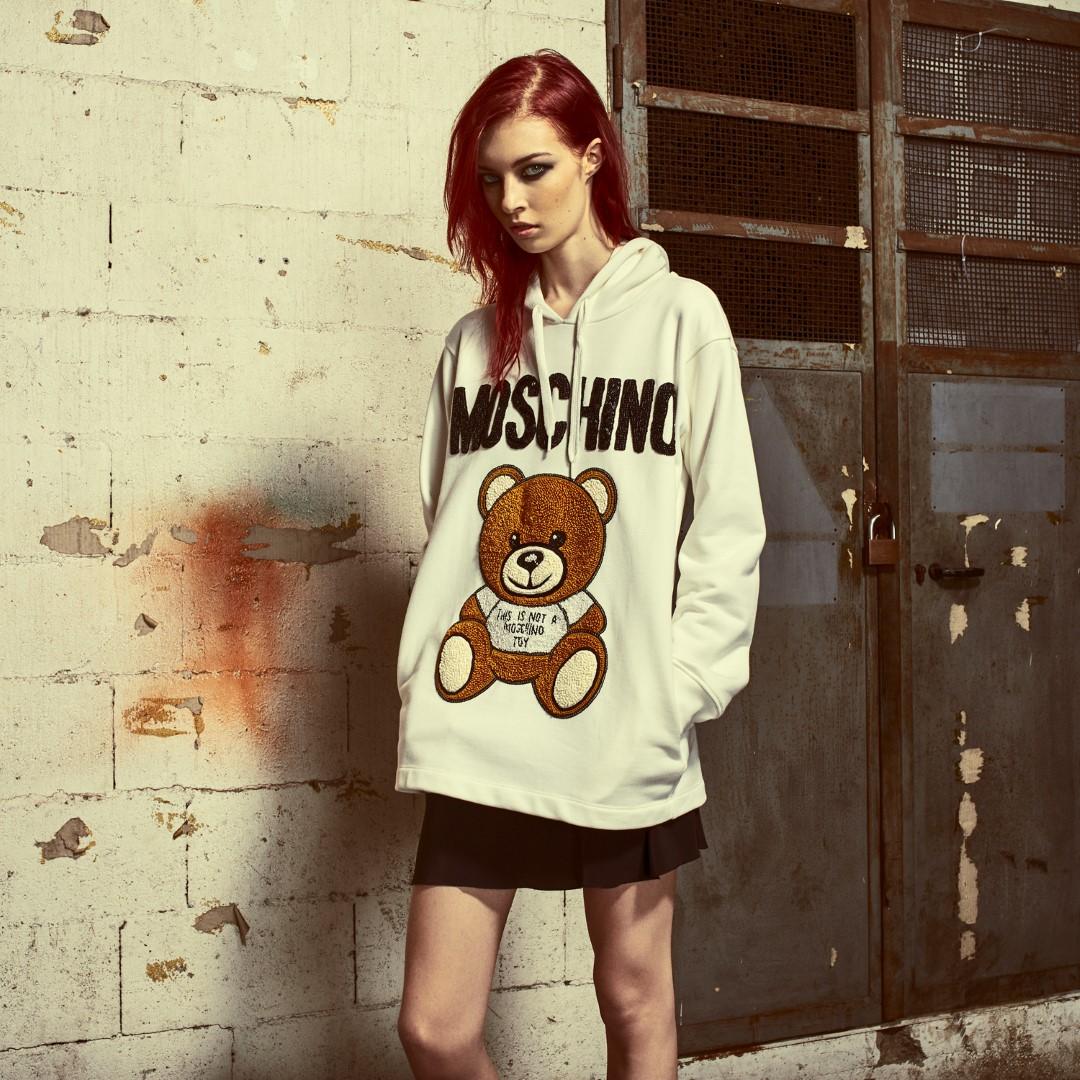 Moschino Teddy Bear primavera estate 2019
