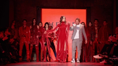 Yezael Angelo Cruciani sfilata rossa: lo speciale fashion show a Roma