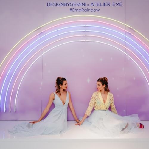 Fuorisalone 2019 Atelier Emé: l'installazione #EmeRainbow di DesignByGemini