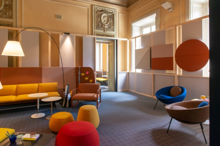 Fuorisalone 2019 Elle Decor: la mostra The Evolution of Workspace a Palazzo Bovara