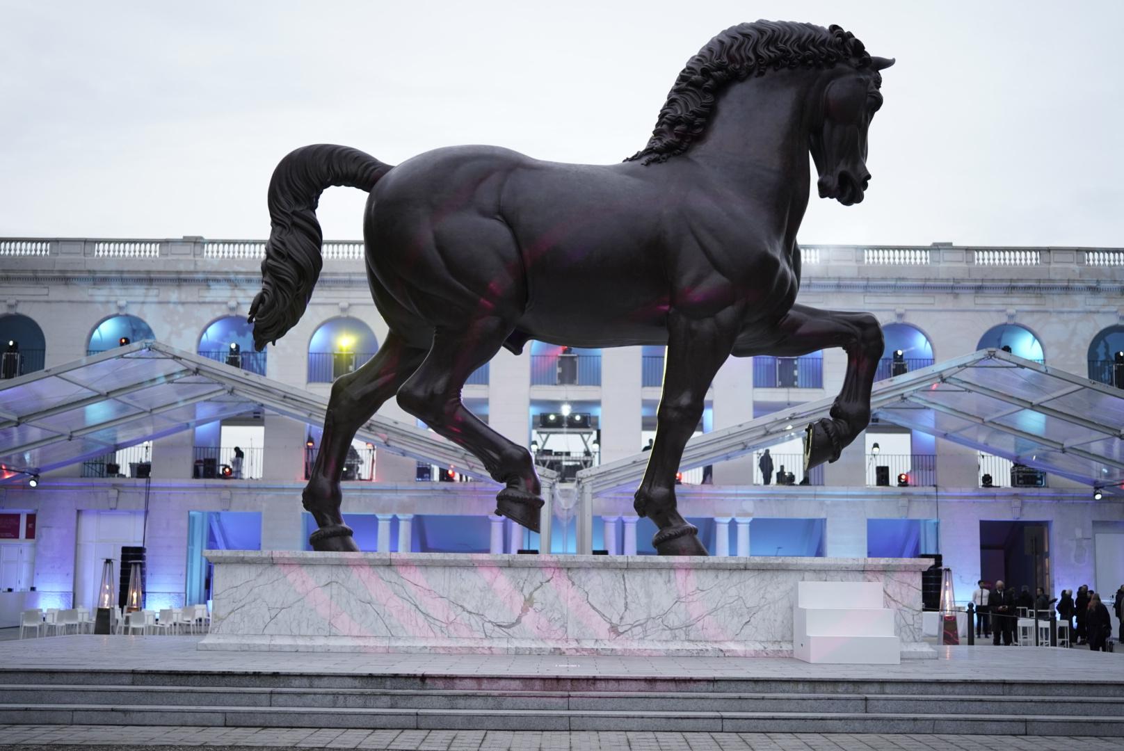 Fuorisalone 2019 Leonardo Horse Project