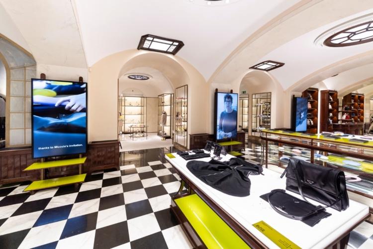 Fuorisalone 2019 Prada Invites: il cocktail party e l'esperienza virtuale con Google