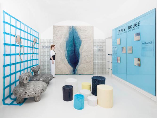 Fuorisalone 2019 Tapis Rouge: Iceberg, il capolavoro artigianale da Rossana Orlandi