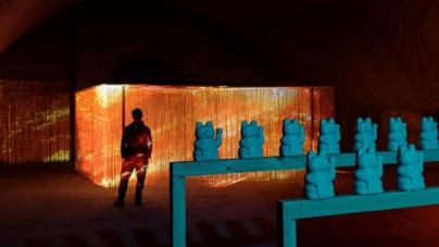 Fuorisalone Milano 2019 Freitag: l'installazione Unfluencer dell'artista Georg Lendorff