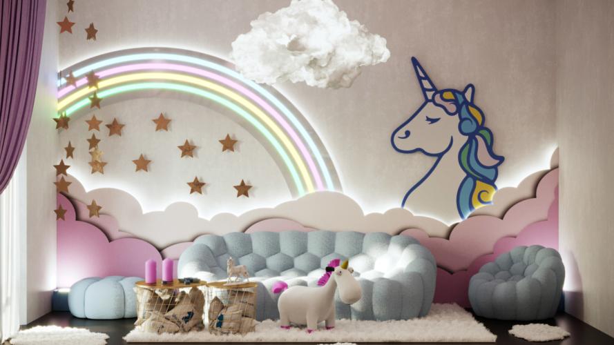 Fuorisalone Milano 2019 casa unicorno: un appartamento dall'atmosfera magica