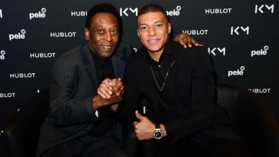 Hublot Kylian Mbappé Pelé: l'incontro tra due leggende del calcio, il nuovo ambassador
