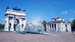 Milano Design Week 2019 Audi: l'installazione e_Domesticity all'Arco della Pace